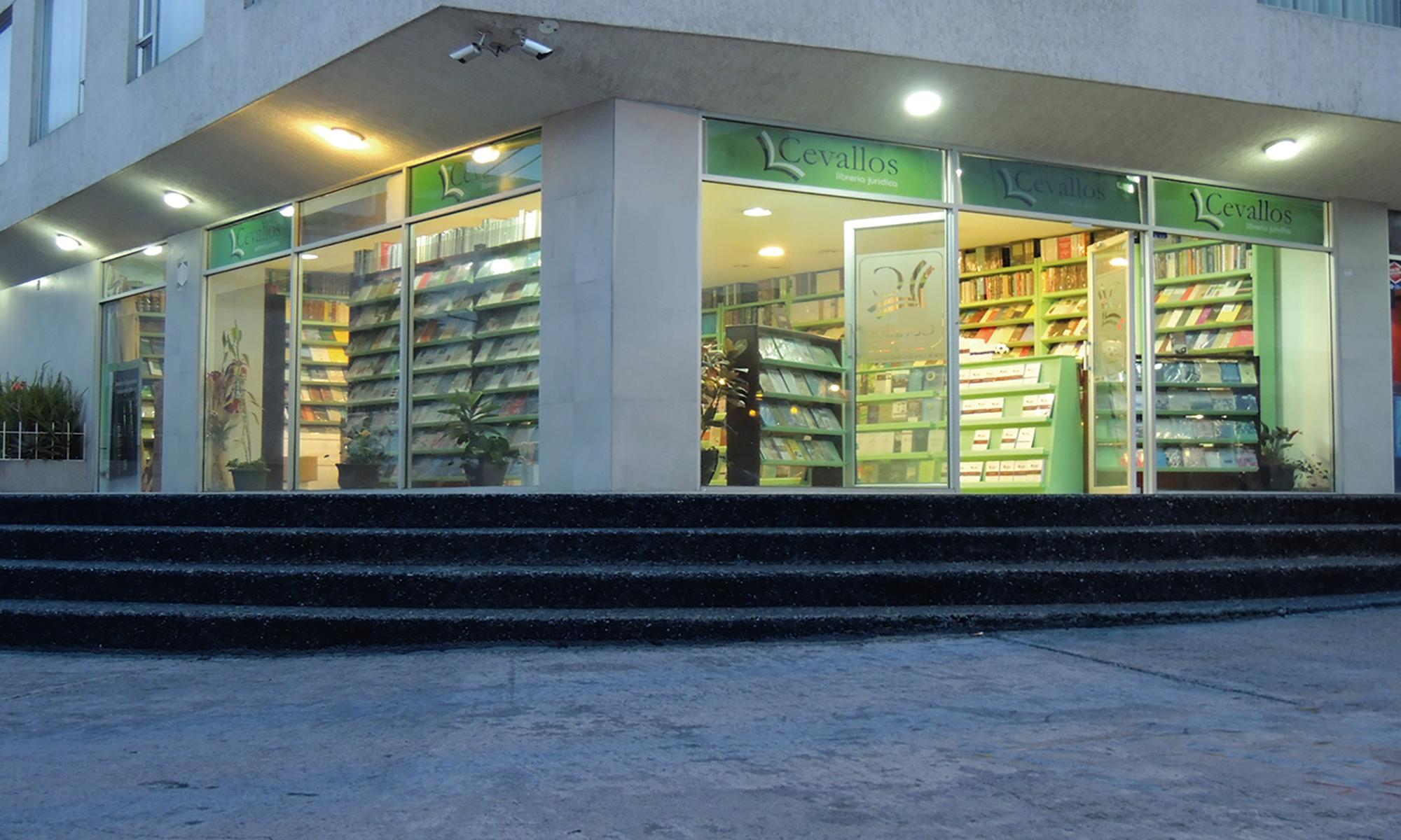 Cevallos librería jurídica Matriz Carrión y Tamayo esquina