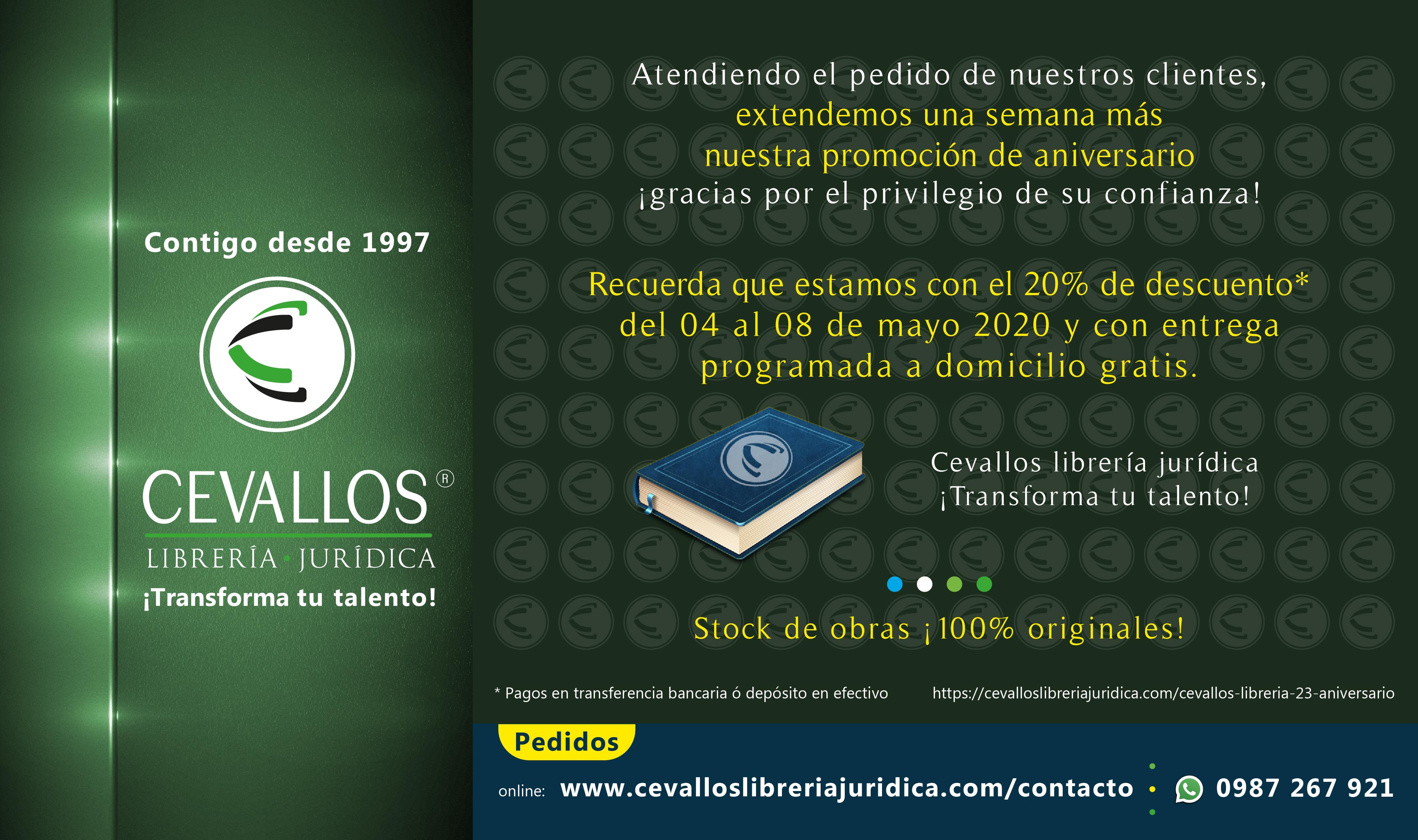 Cevallos librería jurídica - online